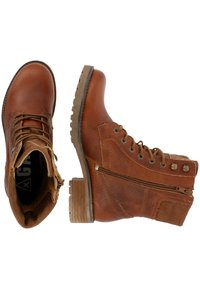 Gaastra - MARENA - Lace-up ankle boots - cognac - 2