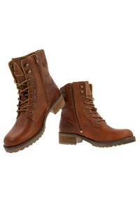 Gaastra - MARENA - Lace-up ankle boots - cognac - 5