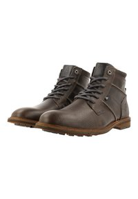 Gaastra - CREW HIGH BOAT TMB - Lace-up ankle boots - dark grey - 2