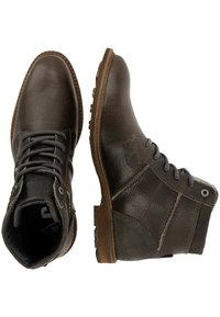 Gaastra - CREW HIGH BOAT TMB - Lace-up ankle boots - dark grey - 1