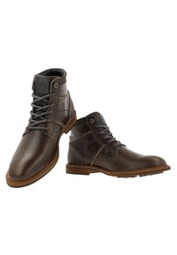 Gaastra - CREW HIGH BOAT TMB - Lace-up ankle boots - dark grey - 4