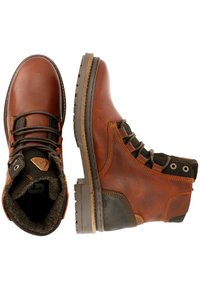Gaastra - TRAVIS HIGH  - Lace-up ankle boots - dark brown - 1