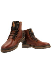 Gaastra - TRAVIS HIGH  - Lace-up ankle boots - dark brown - 3