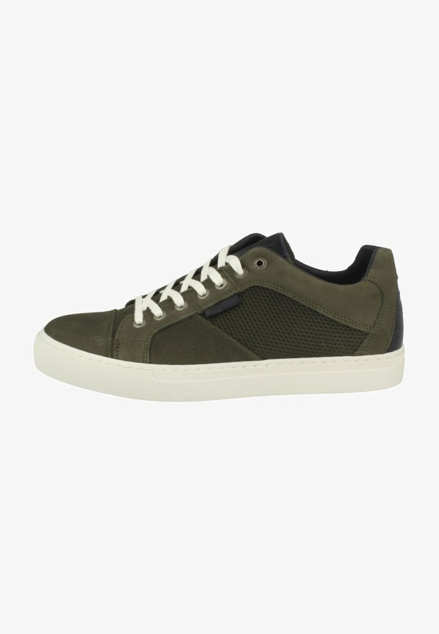 HUFF PRISMA - Sneakers laag - olive