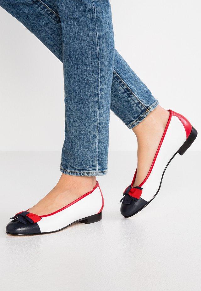 DOLLY - Ballerina's - marine/bianco/rosso