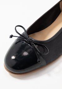 Gabriele - DOLLY - Klassischer  Ballerina - marine - 2