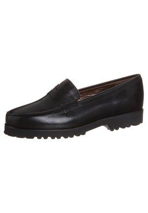 SILVIA - Nazouvací boty - naplux nero