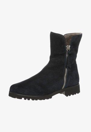 SILVIA - Classic ankle boots - camoscio marine