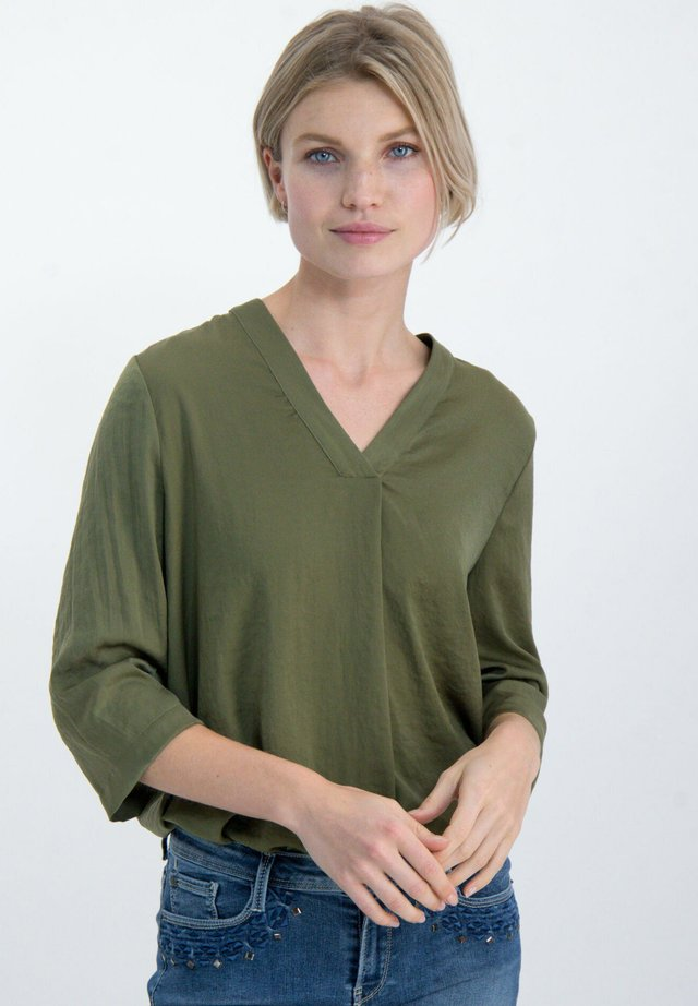 Tunic - olive green