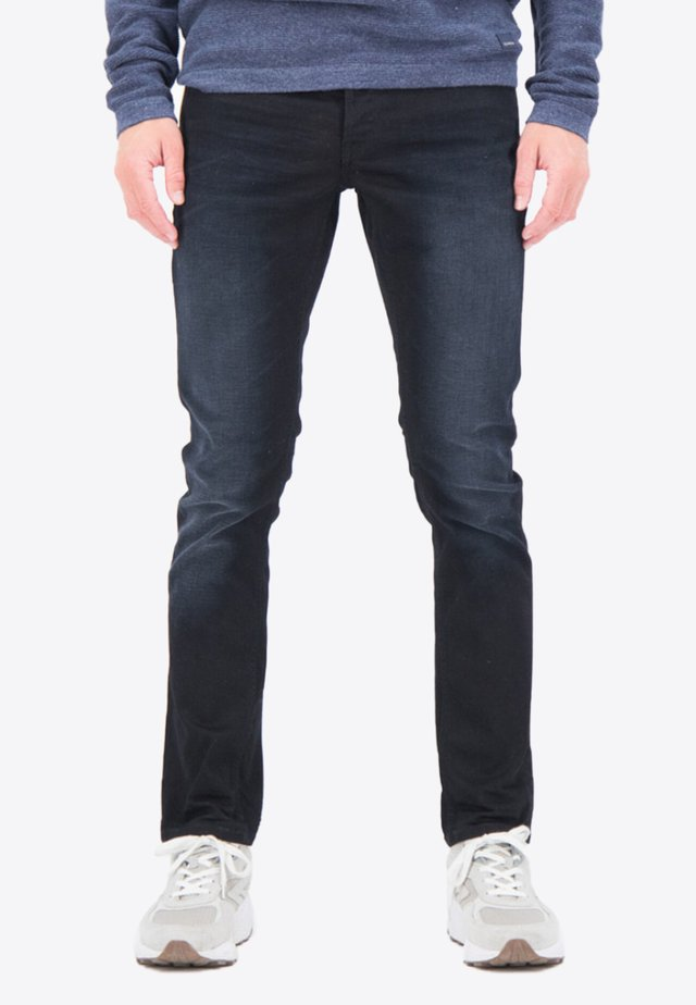 Slim fit jeans - blue/black