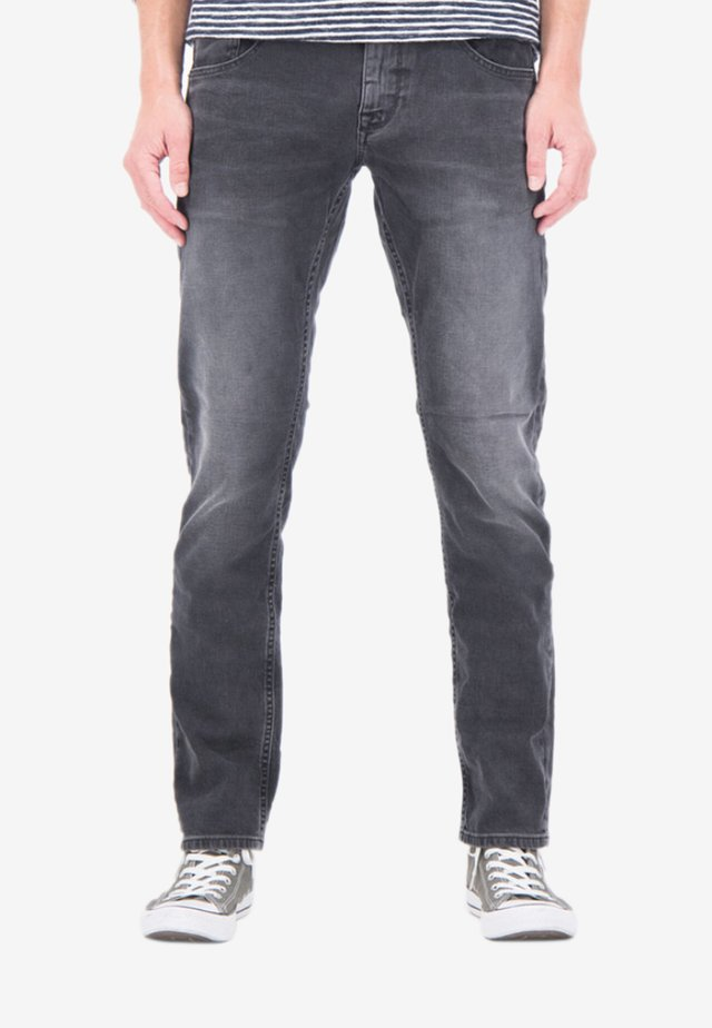 Straight leg jeans - grey denim