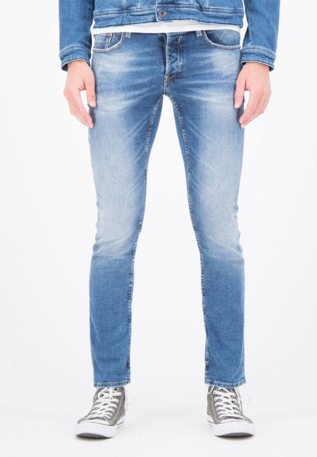 SAVIO  - Slim fit jeans - blue denim