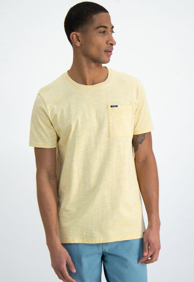 T-shirt basic - yellow rock