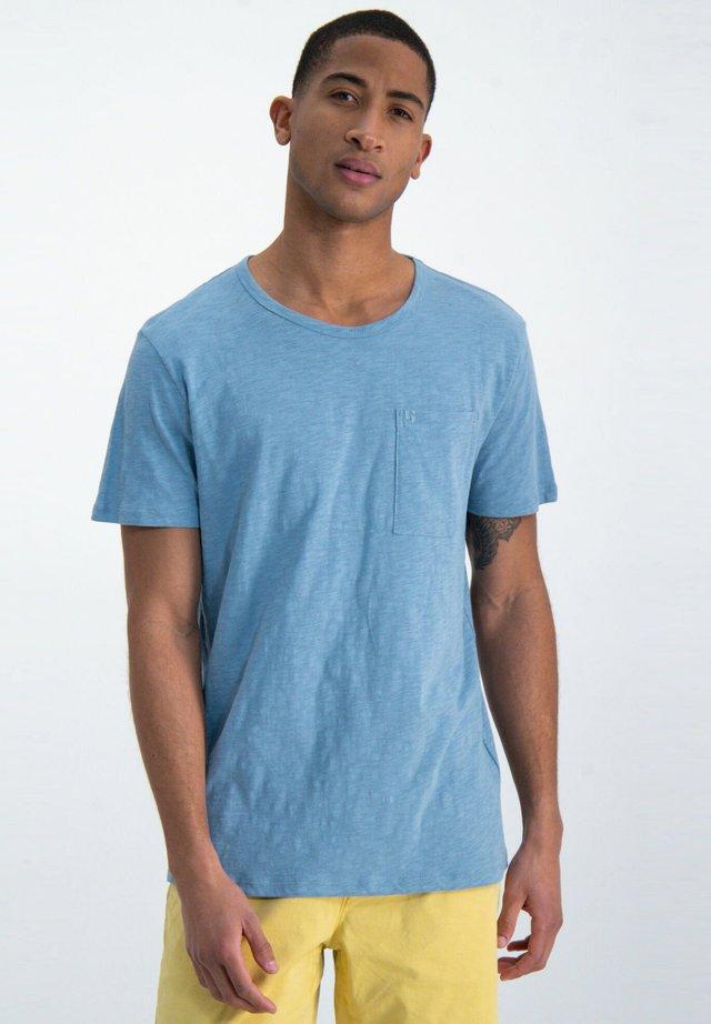 T-Shirt basic - mineral blue