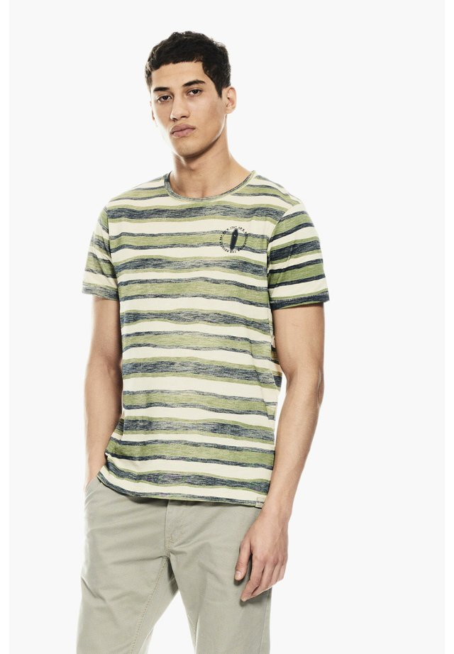 T-Shirt print - washed army