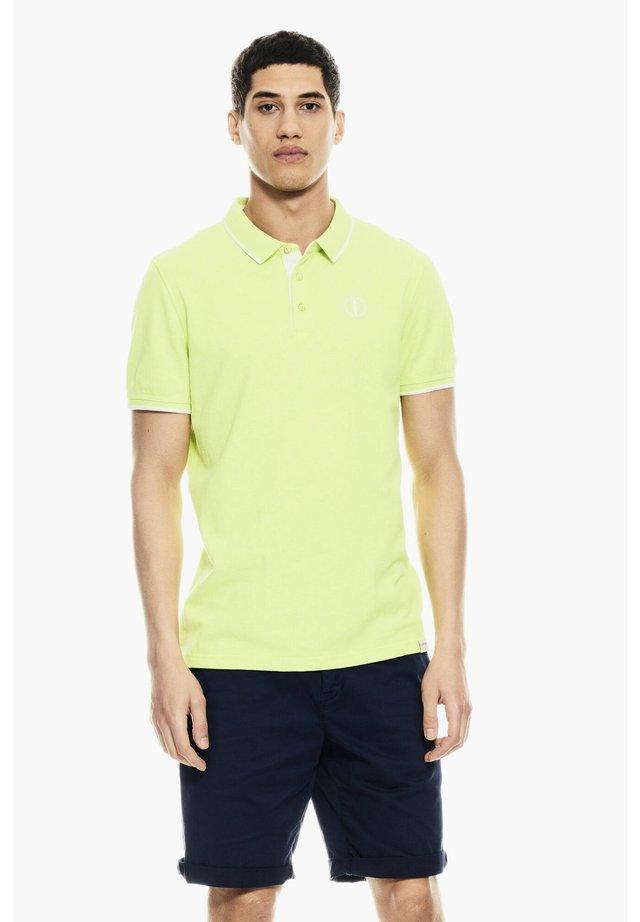 Poloshirt - bright yellow