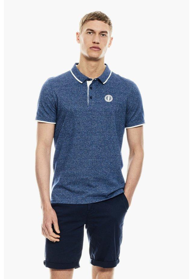 Polo shirt - navy peony