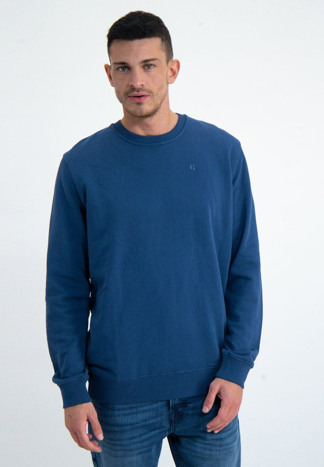 Sweatshirt - blue spring