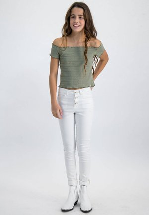 Slim fit jeans - offwhite