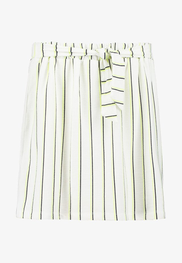STRIPED - A-Linien-Rock - off white