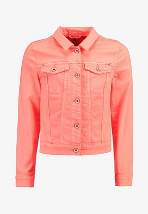 Denim jacket - orange