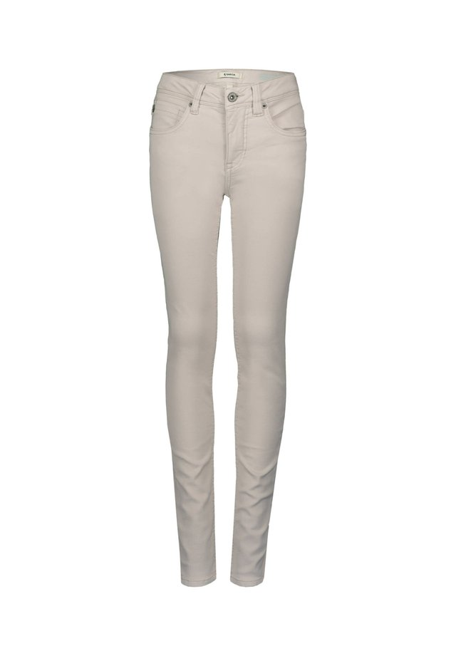 XANDRO - Jeans Skinny Fit - sand
