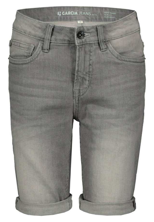 TAVIO - Jeans Shorts - stoned blue (81)