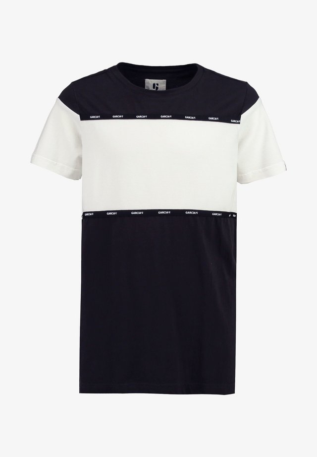 T-shirt print - off-black