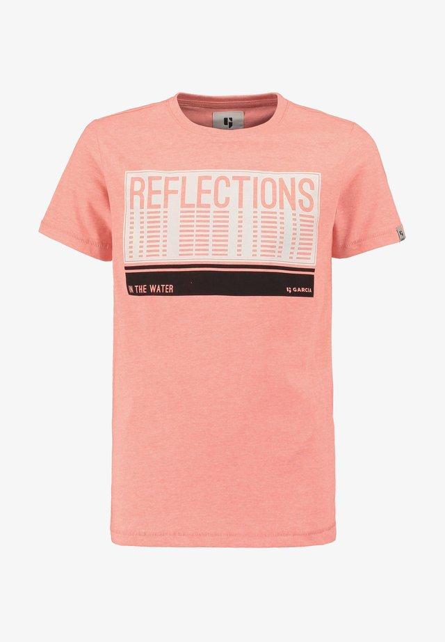Print T-shirt - lemonade