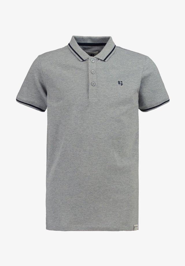Polo shirt - grey melee