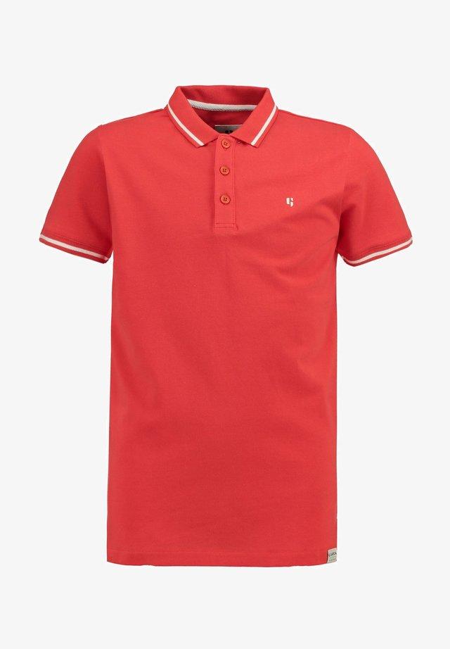 Poloshirt - bright red