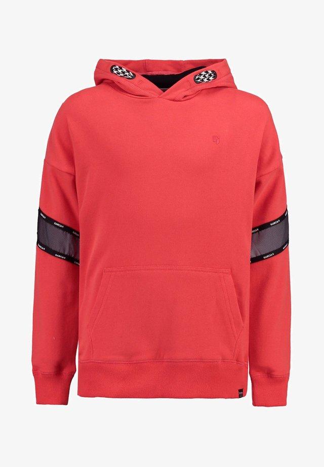 Hoodie - bright red