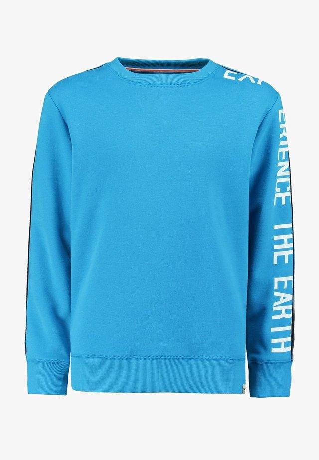 Sweater - vivid blue