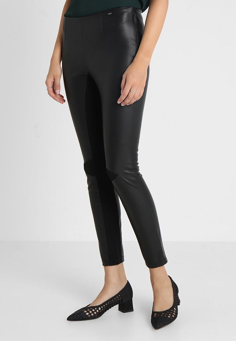 GAS - ROSES PANT - Trousers - black