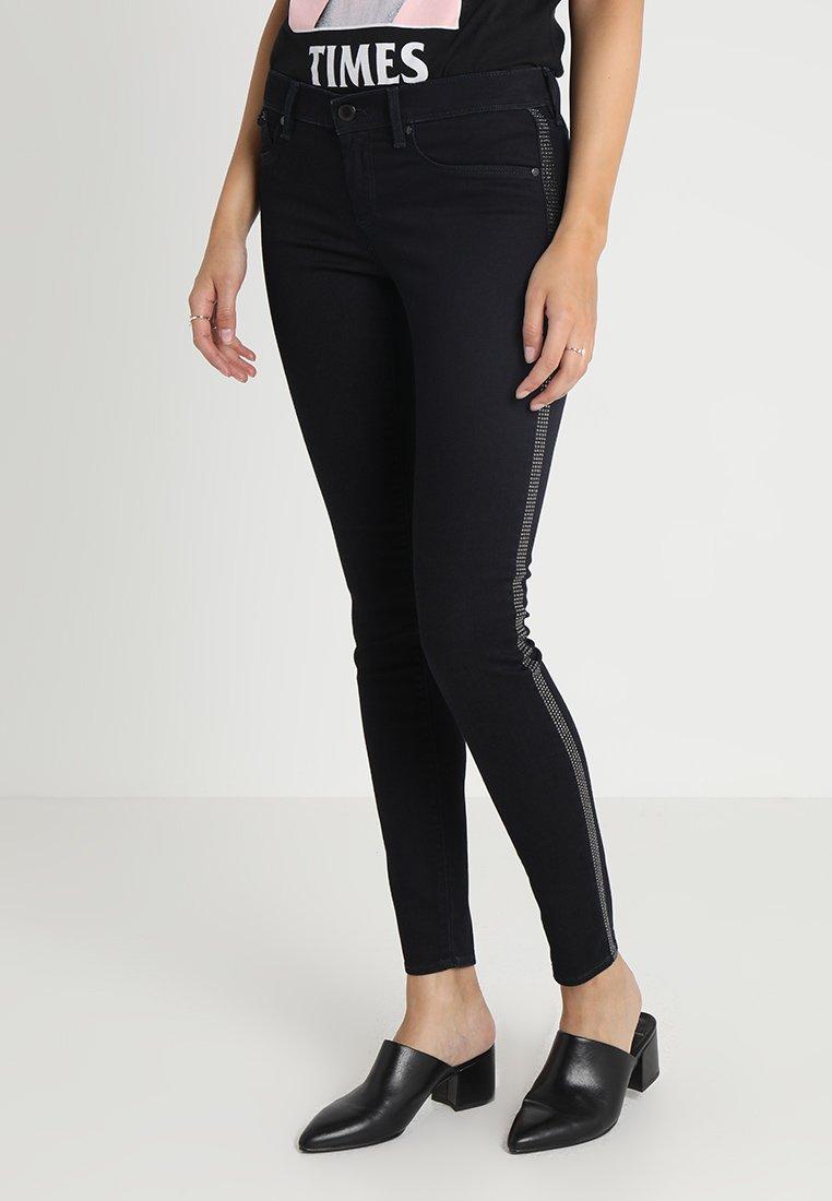 GAS - SUMATRA ROCK - Jeans slim fit - black denim