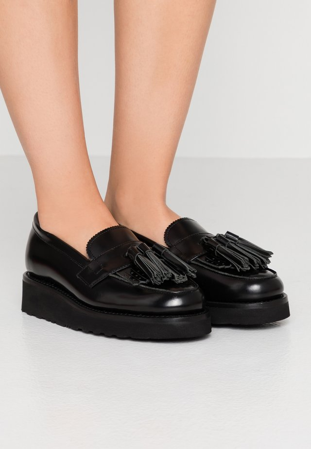 CLARA - Slipper - black