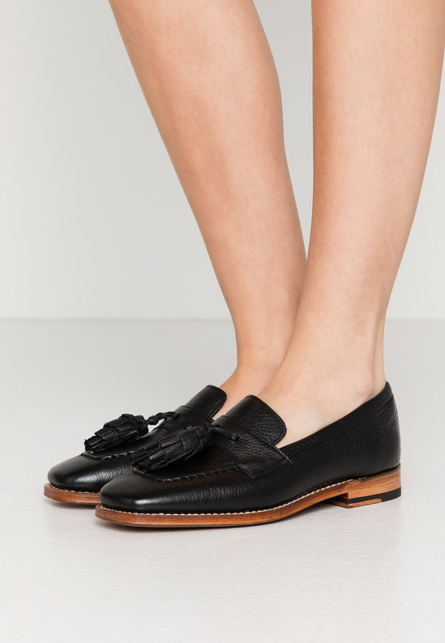 CONSTANCE - Slippers - black