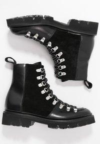 Grenson - NANETTE - Kotníkové boty na platformě - black - 3