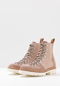 Grenson - NANETTE - Lace-up ankle boots - brown/rose - 4