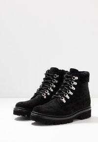 Grenson - BROOKE - Šněrovací kotníkové boty - black - 4