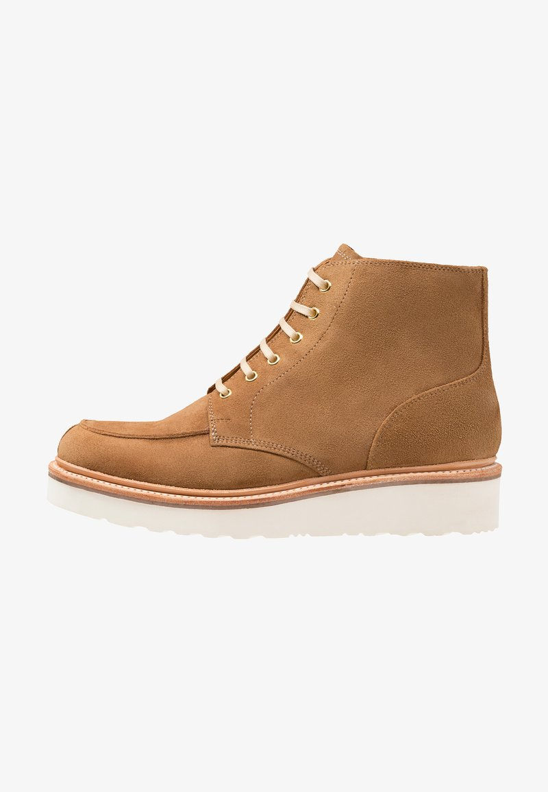 Grenson - BUSTER - Lace-up ankle boots - honey