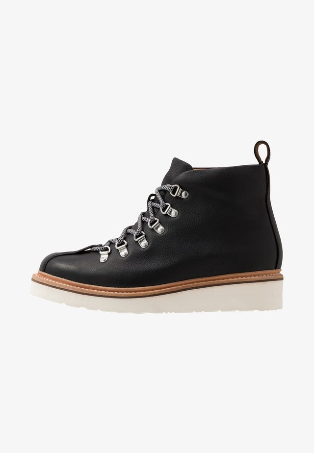 BOBBY - Lace-up ankle boots - black