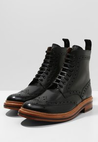 Grenson - FRED - Lace-up ankle boots - black calf - 2