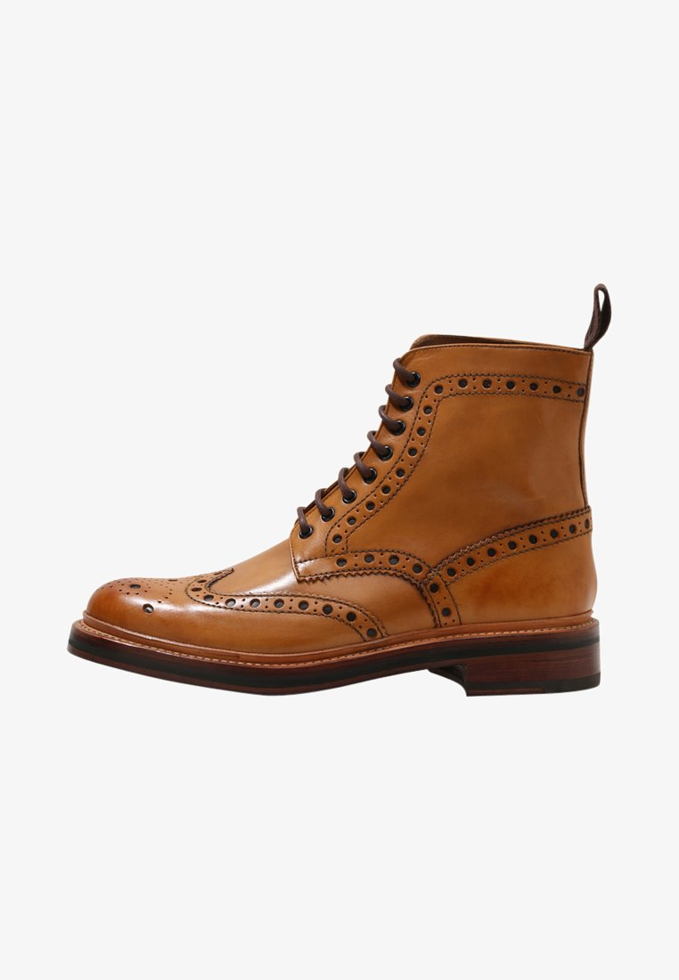Grenson - FRED - Lace-up ankle boots - tan calf