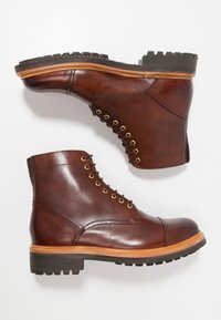 Grenson - JOSEPH - Lace-up ankle boots - tan - 1