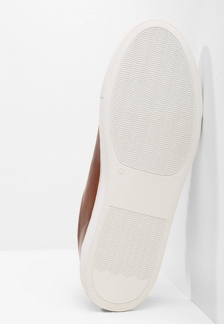 Grenson Sneakersy niskie - tan handpainted