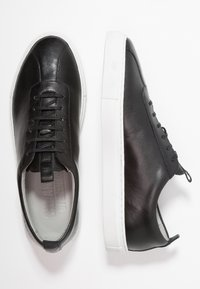 Grenson - Matalavartiset tennarit - black - 1
