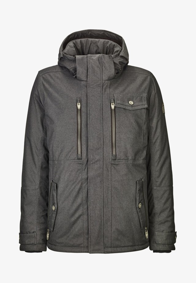 PAISANO STRUCTURE - Winter jacket - anthracite