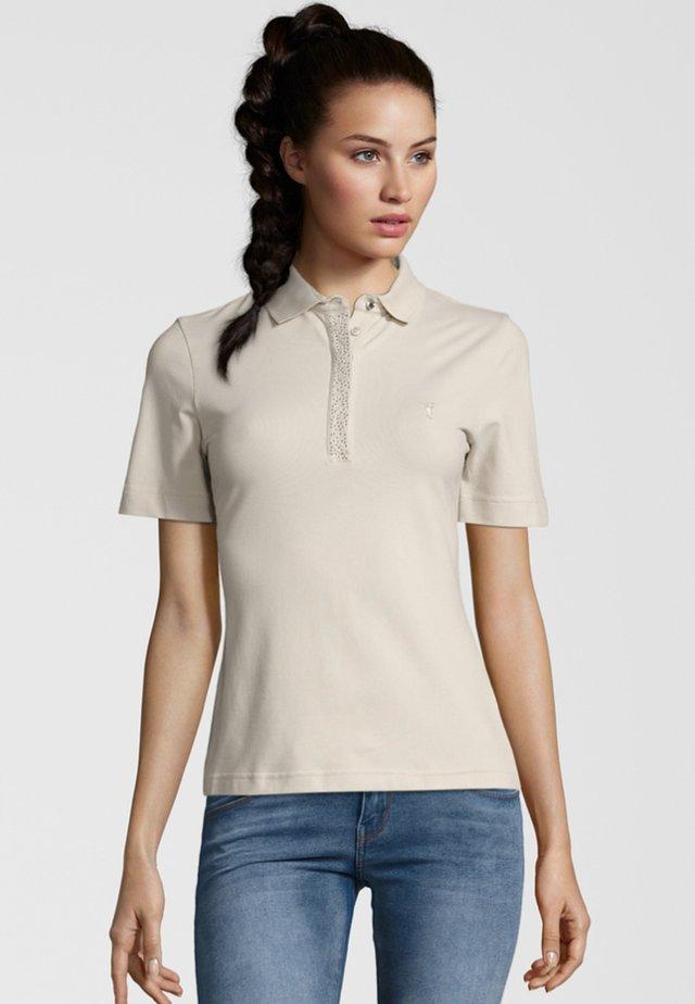 MELANIA - Polo shirt - light beige