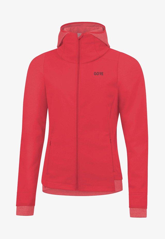 Training jacket - light red